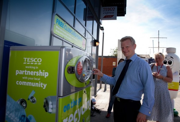 Recycling Boost for Ocean Village