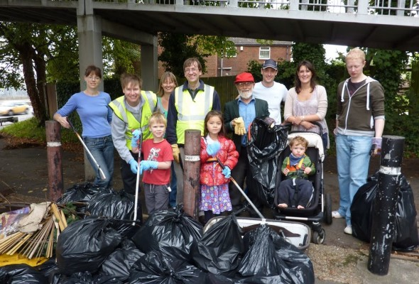 Foundry Lane Litter Pick