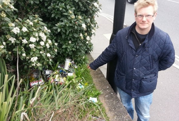 Action Needed to Tackle Street Drinking in Shirley Road