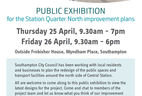 Public Exhibition Regarding the City's Station Quarter