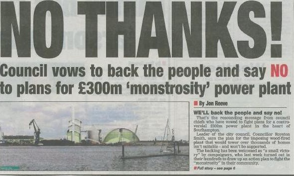 Council Leader Says 'No Thanks!'