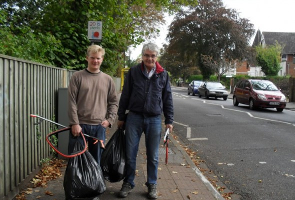 Helping Out in Ranelagh Gardens