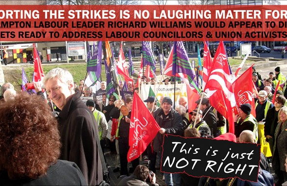 Labour Behind Council Strikes