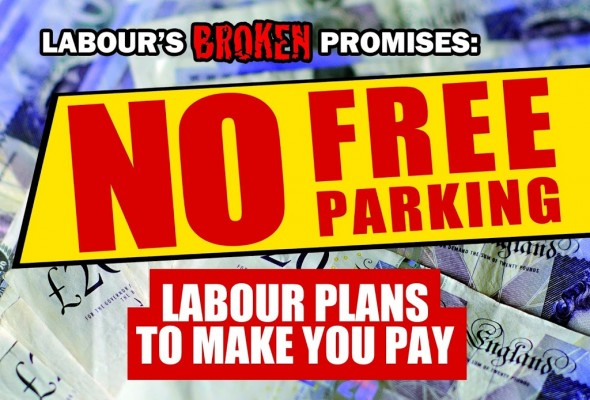 Labour Plans To Charge You To Park Outside Your Own Home