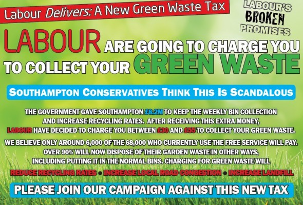Conservatives Oppose Labour Plans to Charge for Green Waste Collections