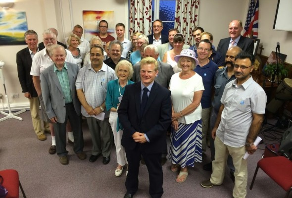 Standing to be the Southampton Test MP